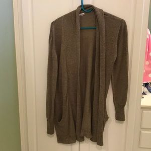 Tan urban outfitters cardigan size small!